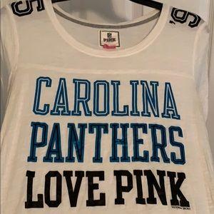 RARE - Carolina Panthers Long Sleeve PINK Shirt!